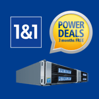 1and1 Dedicated server coupon : Get 3 months free on all Plans