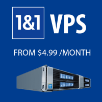 1and1 VPS coupon : 50% off first month all Virtual Cloud Server plans