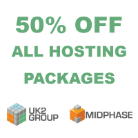 50% OFF coupon all Hosting plans at Midphase.com
