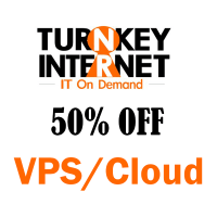 50% OFF all VPS/Cloud Server plans at TurnkeyInternet !!!