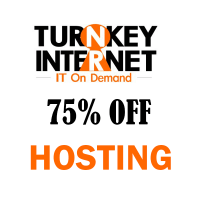 75% OFF on all Shared Hosting Plans at TurnkeyInternet !!!