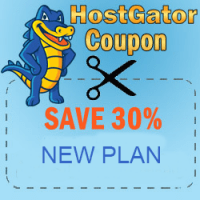 30% off hosting coupon all Plans at HostGator.com