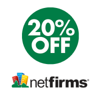 20% OFF all hosting plans at Netfirms.com