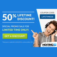 Hosting24 coupon codes for hosting only 1 cent and free domain