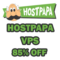 Save 85% on All VPS Plans at HostPapa.com