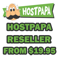 Reseller hosting at HostPapa just only $19.95 / month
