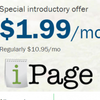 Max discount iPage Promo code 81% Off unlimited hosting +free domain included