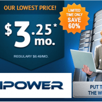 iPower Coupon Codes for 60% off on Pro Hosting plan , WordPress hosting only $3.75 and 20% Off VPS