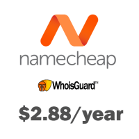 Private whois at Namecheap just only $2.88/year !