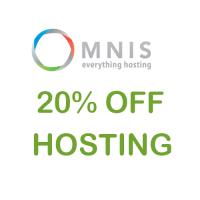 20% OFF hosting coupon Unlimited Hosting at Omnis.com