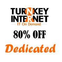 80% OFF on Dedicated servers at TurnkeyInternet !!!