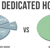 Virtual hosting vs dedicated server hosting