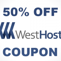 50% OFF hosting coupon all packages at WestHost.com