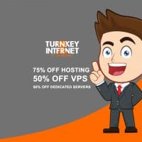 TurnkeyInternet Coupon Codes for Save 75% off Web Hosting , 80% off Dedicated Servers and 50% off Vps/Cloud