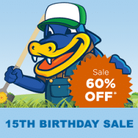 HostGator's 15th Birthday Sale coupon : 60% Off Shared, Cloud, and WordPress!