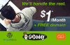 How to Register Managed WordPress Hosting $1/month + Free domain name at GoDaddy.Com
