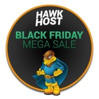 Hawk Host Black Friday 2017 coupon – 70% off your entire hosting