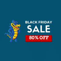 Black Friday 2017 HostGator Coupon : Save Up To 80% With $2.99 Select Domains