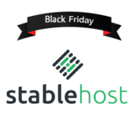 Black Friday 2017 StableHost Coupon 80% off lifetime
