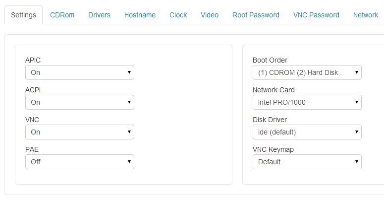 tab setting
