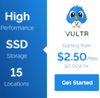 Vultr Coupon Codes : Get free $10 credits,3$ Twitter, 50GB Block Storage Free