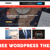 Top 5 beautiful free WordPress themes and Optimized for SEO