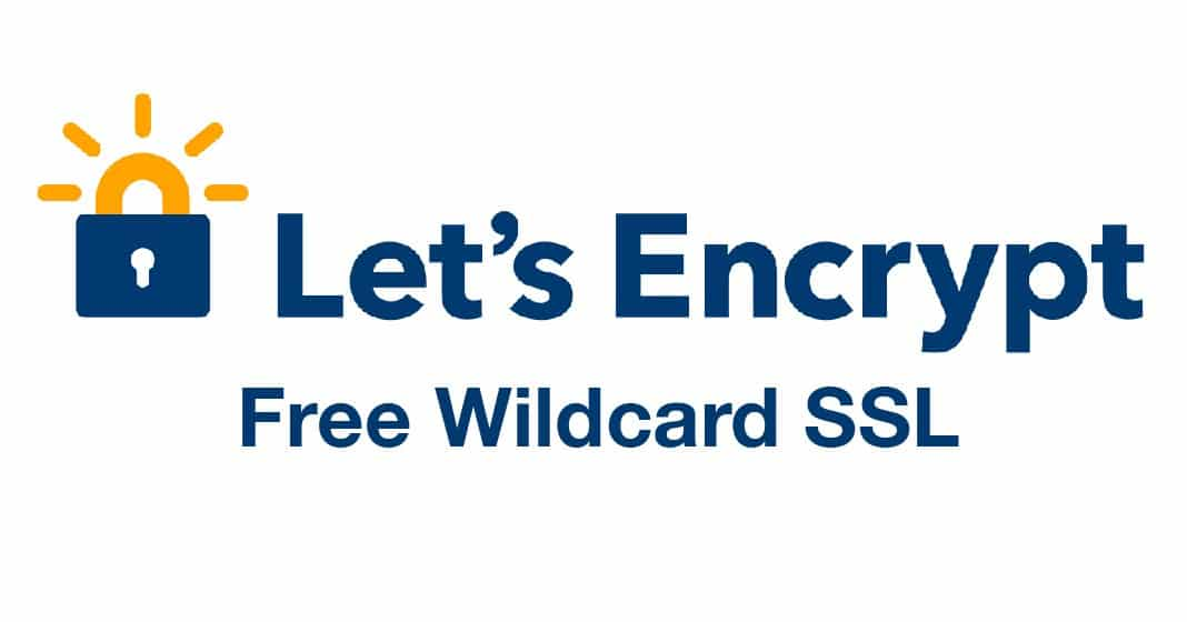 let's encrypt wildcard