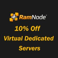 10% off Virtual Dedicated Servers coupon at Ramnode for lifetime
