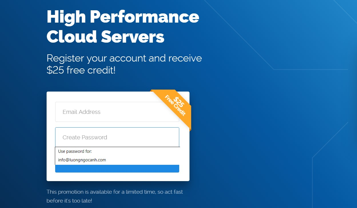 vultr $25 credits coupon