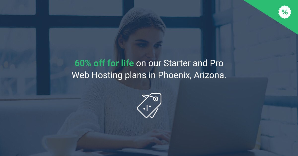 StableHost Discount 60 percent at Phoenix Location