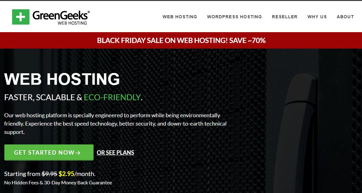 Greengeeks blackfriday sale