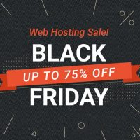 [Black Friday 2018] 75% off of the total hosting package at SiteGround