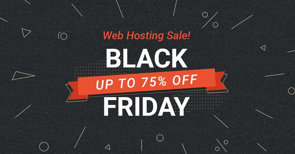 SiteGround Black Friday 2018 coupon