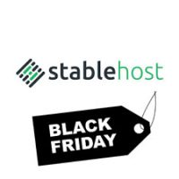 Black Friday 2018 StableHost coupon : Save 80% on Shared Hosting and Reseller