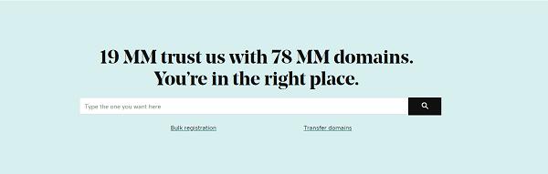 GoDaddy 99 cent domain promo