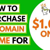 GoDaddy Domain For 1 Dollar: 99 Cent Promo Code, $1 WordPress Hosting
